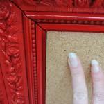 How to Make a Vintage Frame Cork Board