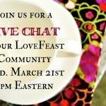 LIVE CHAT ~ Conversation Topic ~ Community