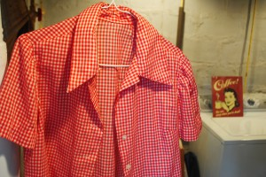 Vintage Gingham blouse