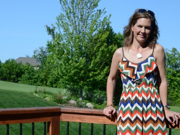 Chevron Dress Feature