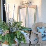 Winter Porch Vignettes