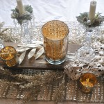 Winter Tablescaping for an Intimate Wedding