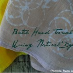 Batik Hand Towels 2