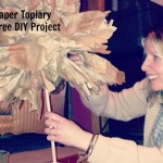 Paper Topiary Tree DIY