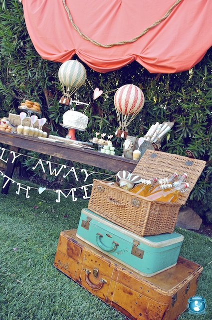 Graduation Table Decoration Ideas Oh The Places You'll Go Graduation Party Ideas | LoveFeast Table