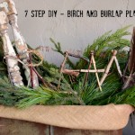 How To Make A Large Birch Tree & Burlap Planter