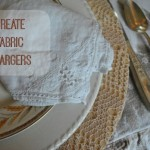Creating Fabric Covered Chargers