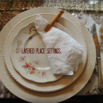 Layered Place Settings