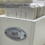 Gathered Thoughts Box http://www.lovefeastshop.com