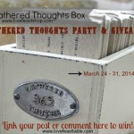 Gathered Thoughts Party & Giveaway