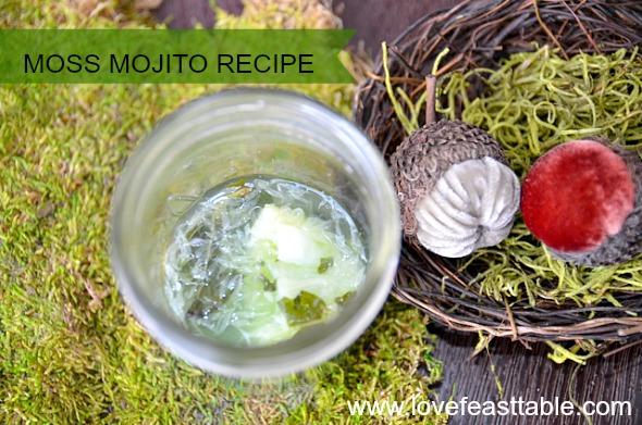 Moss Mojito Recipe http://www.lovefeasttable.com