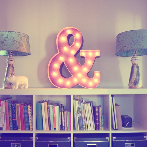 Vintage Marquee Light http://lovefeastshop.com