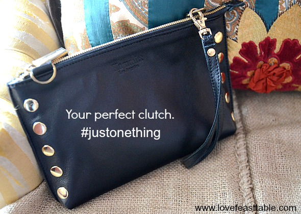 Perfect Clutch #justonething http://www.lovefeasttable.com