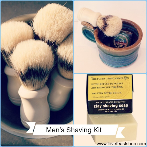 Men's Shaving Kit http://www.lovefeastshop.com