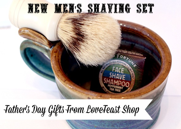 Men's Father's Day Gifts Shaving Set http://www.lovefeastshop.com