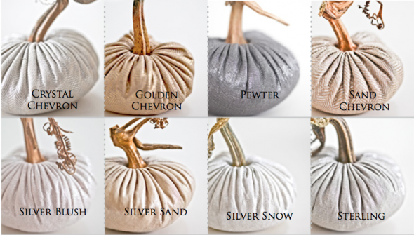 Linen Pumpkin Colors 2014
