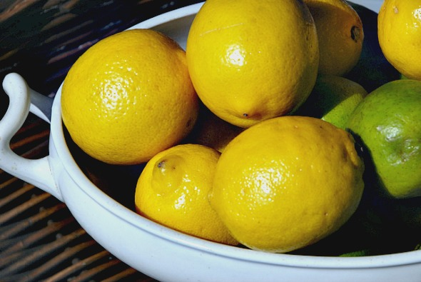 life is a bowl of lemons http://www.lovefeasttable.com