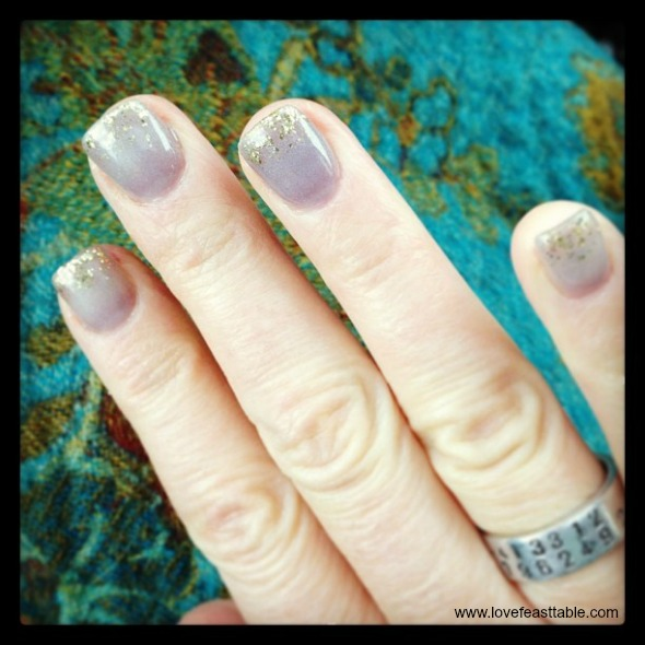 French Nouveau Nails www.lovefeasttable.com