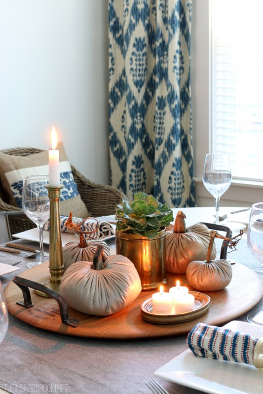Fall Centerpiece The Inspired Room