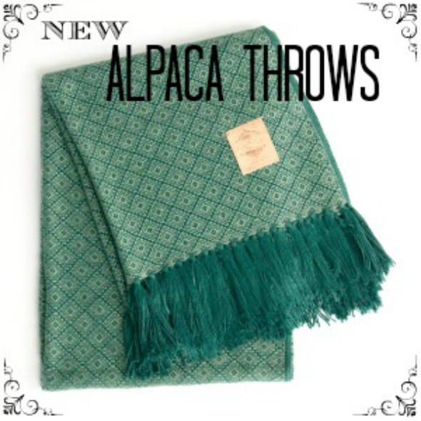 NEW Alpaca Throws www.lovefeastshop.com