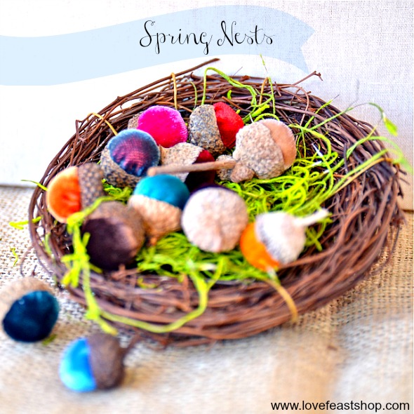 Spring Nests www.lovefeastshop.com