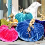 NEW Spring Velvet Plush Pumpkins