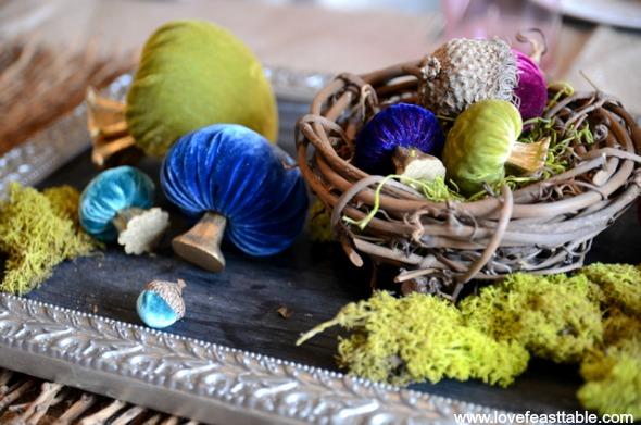Velvet Mushroom Spring Nest 590