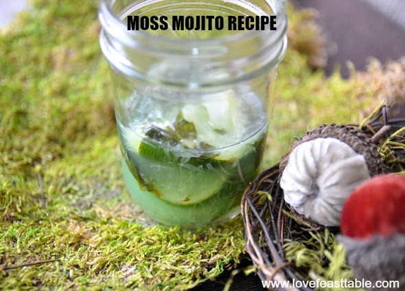 Moss Mojito Recipe www.lovefeasttable.com