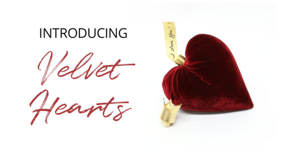 Velvet Hearts for Valentine's Day